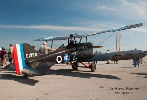 Royal Aircraft Factory S.E.5a (replica) by AEisnor