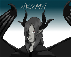 Akuma by Carbonated-Wrath