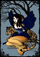 Snow white Fairy by asymmetrical-wings