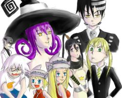 Soul Eater Sketch Dump by AdrianaBitesYou