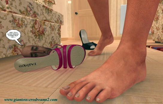 Giantess Erodreams2 - Insole! by ilayhu2