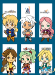 O' Favorite FF characters by Fiatan