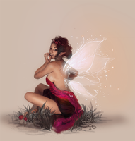 Idle Fairy by Salacia-of-Vanadiel