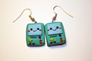 Beemo Earrings by Nabila1790