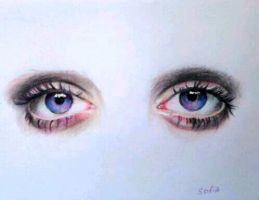 eyes:) by SofiaAliens