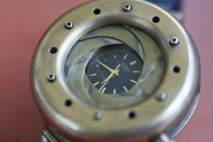 Steamwatch with iris cover 5 by Gogglerman