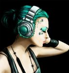 Turquoise Music by Chihyro
