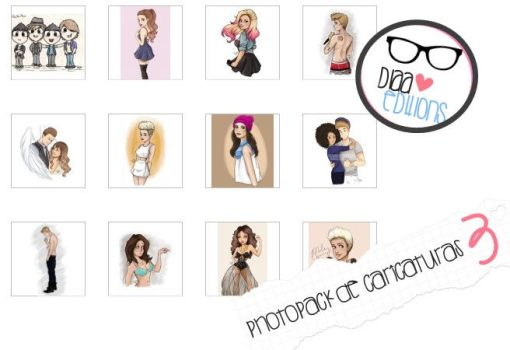 +Photopack de Caricaturas 3 by A-DiaaEditions