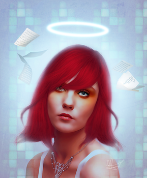 Electronic Muse by AlexandriaDior