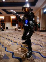 Metrocon 2012 - Master Chief by JavaCosplay