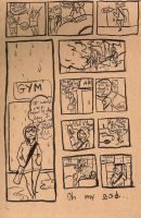 24 Hour Comic Day 2009 - Pg.4 by kaijuMOSES