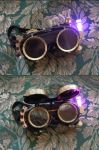 Steampunk Goggles by AKABurningFlame