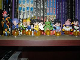 DBZ Figures by Puja723