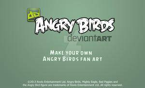 Angry Birds Deviantart Loading Screen by TBalazs2000