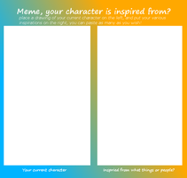 character inspiration meme by Ionic44