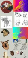 sketchdump by Andiliion