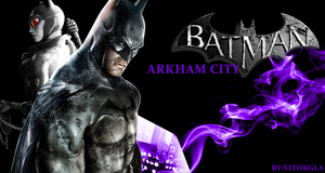 Arkham City Plus Wall Vitor by Weskervit789