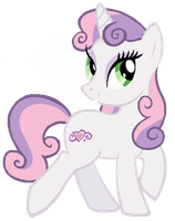 Adult Sweetie Belle by Shokka-chan