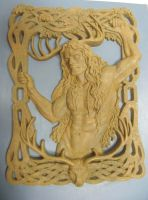 Herne Plaque proto type by ssantara