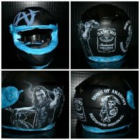 Sons of Anarchy helmet by MikkeSWE