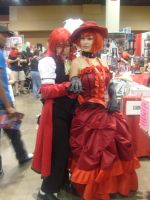Grell and Madame Red by tohru-honda44