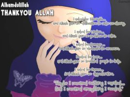 Thanks Allah by airyh