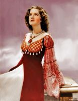 Norma Shearer as Juliet by xSixty-3ight