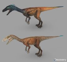 Eoraptor Dinosaur Revolution 3 by Swordlord3d