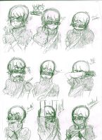 Yoyo's Expressions by PinkHeart-Manoon
