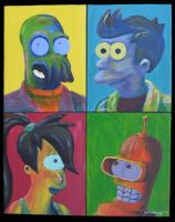 Futurama Four by tanzerin37