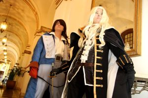 -Cosplay- Alucard and Richter by BrokenPuppet