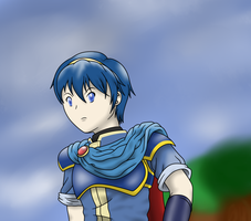 Prince Marth of Altea by faren916