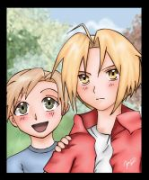 FMA: Two Brothers by jannettella