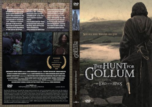 DVD Cover The Hunt for Gollum by Yavanna108