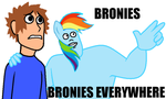 Bronies EVERYWHERE by VisageZero