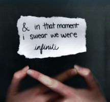 and in that moment i swear we were infinite by livelouder