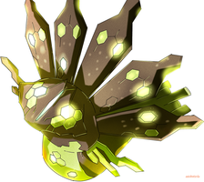 Collaboration - 70 for 70 - Zygarde by AutobotTesla