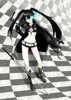 BLACK   ROCK  SHOOTER by tung9394