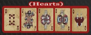 Haunted Cards - Hearts by DickStarr
