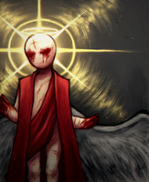 Gabriel v2 ( The Binding of Isaac: Rebirth ) by Traicere