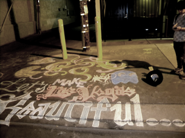 Chalk art 7 by TheDisappearingGirl