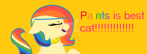 Paints is best cat!!!!!!!! by nyan-cat-luver2000