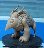 Moon God Toy Pre-Sculpt by Flying-Fox