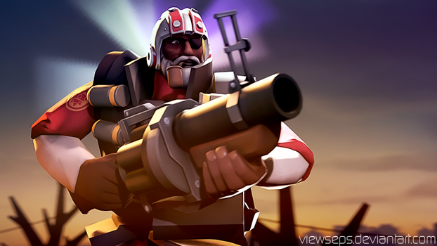 Team Fortress 2 (TF2) - Demoman by ViewSEPS