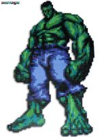 Incredible Hulk Bead Sprite by DrOctoroc