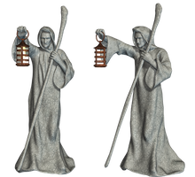 Statues 03 PNG Stock by Roys-Art