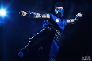 Sub Zero waiting Mortal Kombat X Cosplay by LC Art by LeonChiroCosplayArt