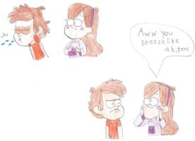 AWW YOU SNEEZE LIKE A KITTEN! by Cokedark11