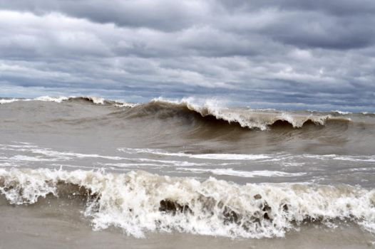 stormy  waters by nikkhidragonfly