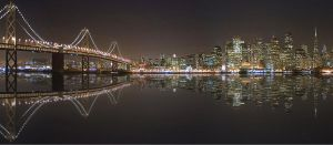San Francisco's Bay Bridge by d70fotograf